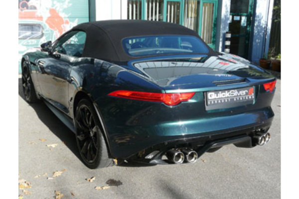 QuickSilver Jaguar F Type R V8 Coupe & Convertible - Performance Sports Exhaust System